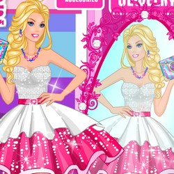 barbie shopping mall games free online